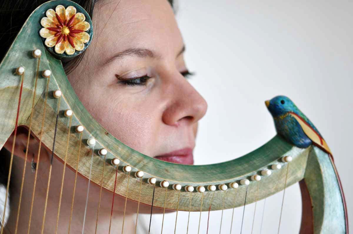 Éva Fogelgesang - Artiste musicienne - Stages Harpe