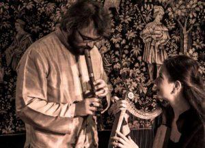 Vagantes - Pélerinages et voyages dans l'Europe médiévale - Éva Fogelgesang - Artiste musicienne